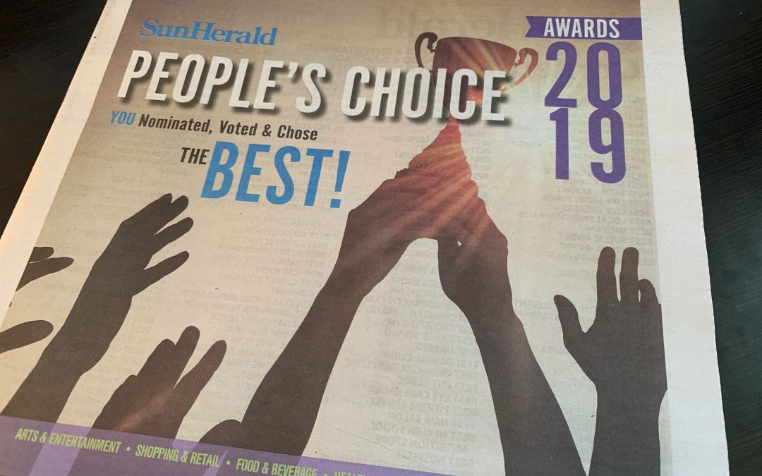 Rhythm & Rain Takes Top Honors in People's Choice Awards!